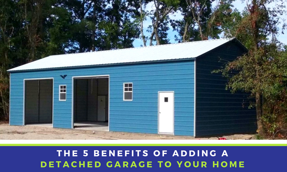 5 Benefits of Adding a Detached Garage to Your Home