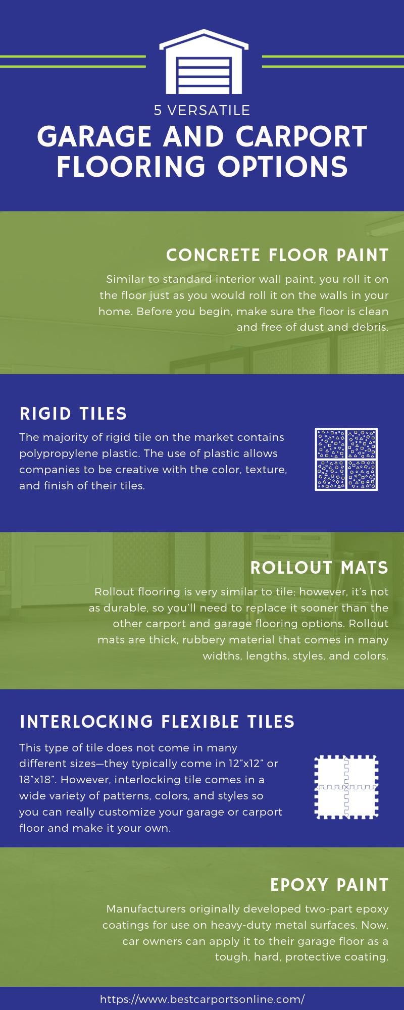 5 Versatile Garage and Carport Flooring Options