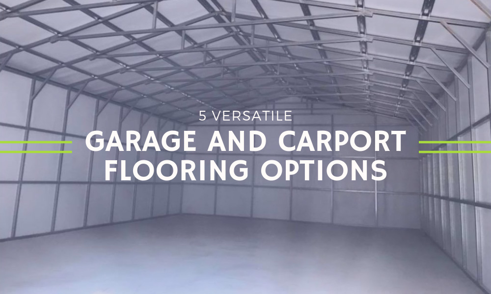5 Versatile Garage and Carport Flooring Options