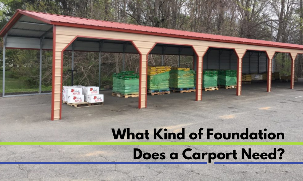 What Kind of Foundation Does a Carport Need?