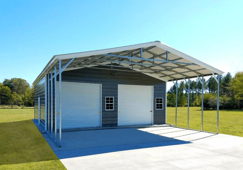 Garage Carport Combo