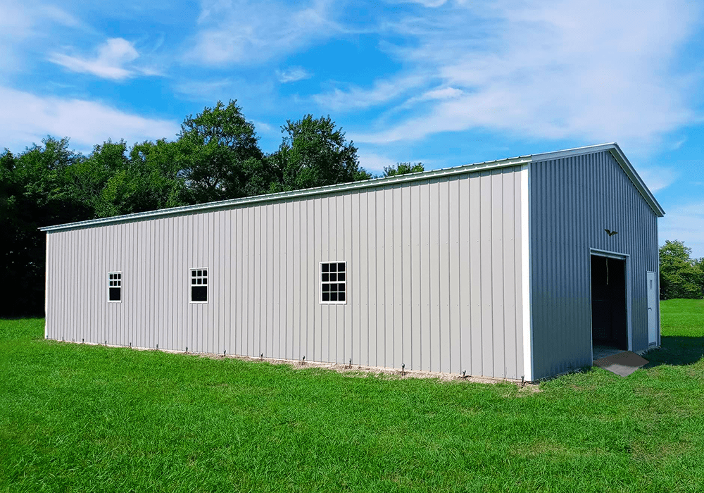 Metal Farm Building